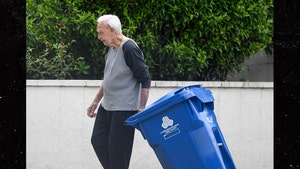 Bob Barker Keeps Busy in Retirement, Doing His Own Chores