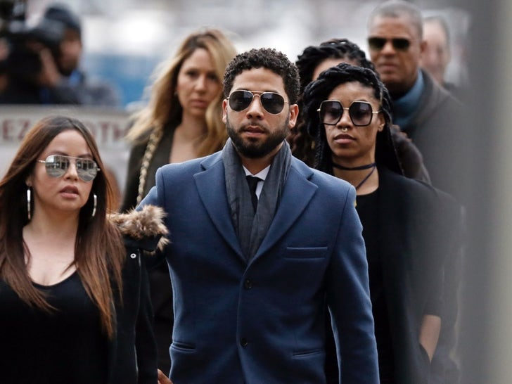Jussie Smollett In and Out Of Chicago Court