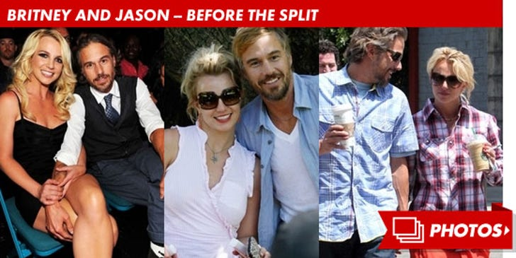 Britney and Jason -- Before the Split