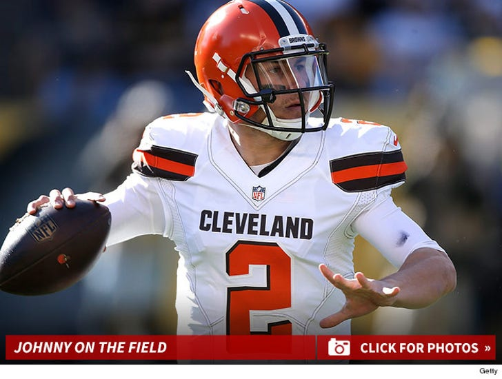 Johnny Manziel -- On The Field