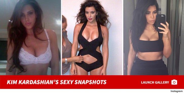Kim Kardashian's Sexy Snapshots