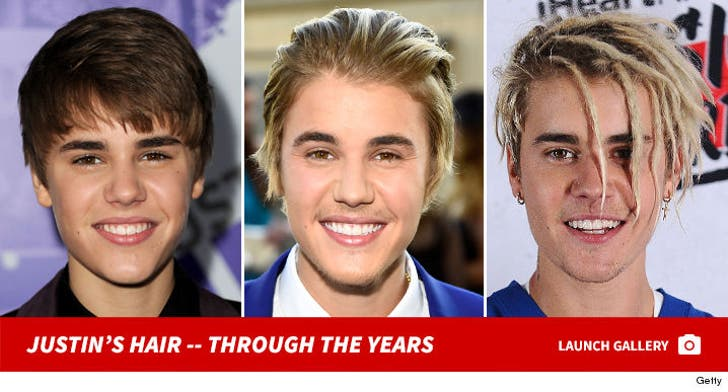 Justin Bieber's Locks -- Through The Years