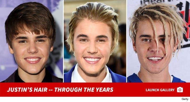 Justin Bieber's Hair History