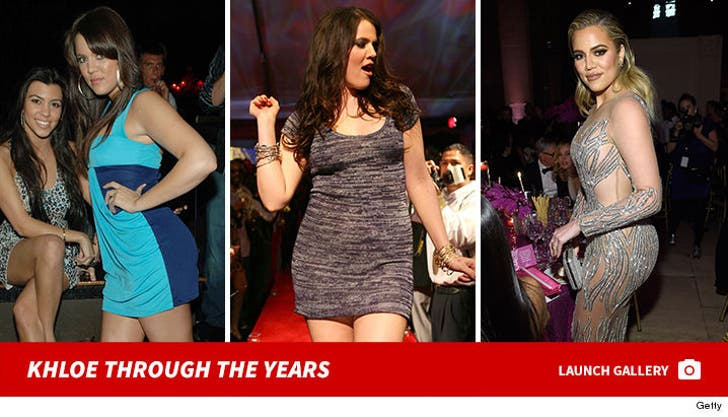 Khloe Kardashian Through the Years