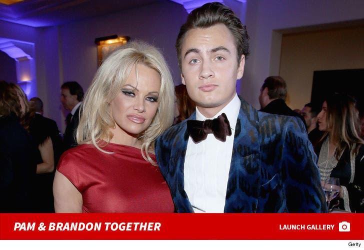 Pamela Anderson and Brandon Lee Together