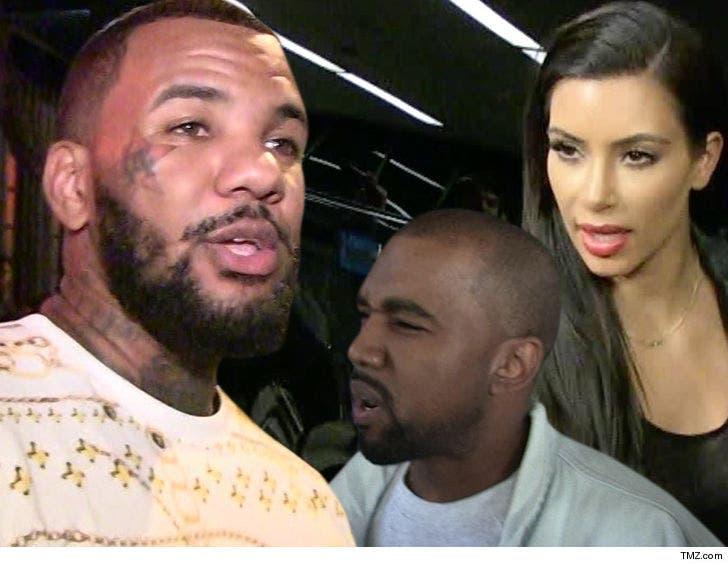 The Game Raps About Rough Sex with Kim Kardashian on New Song
