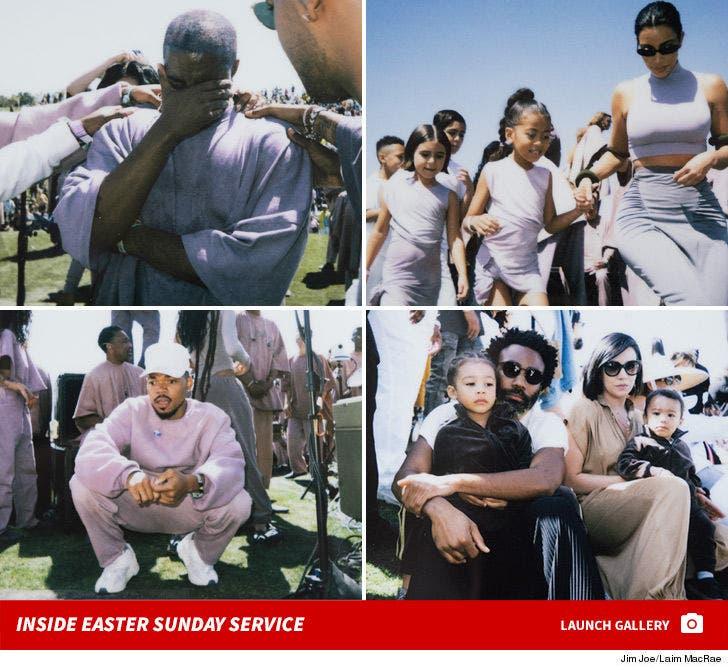 Inside Kanye West's Easter Sunday Service at Coachella