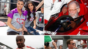 Famous Indy 500 Fans -- Speed Through The Racy Photos