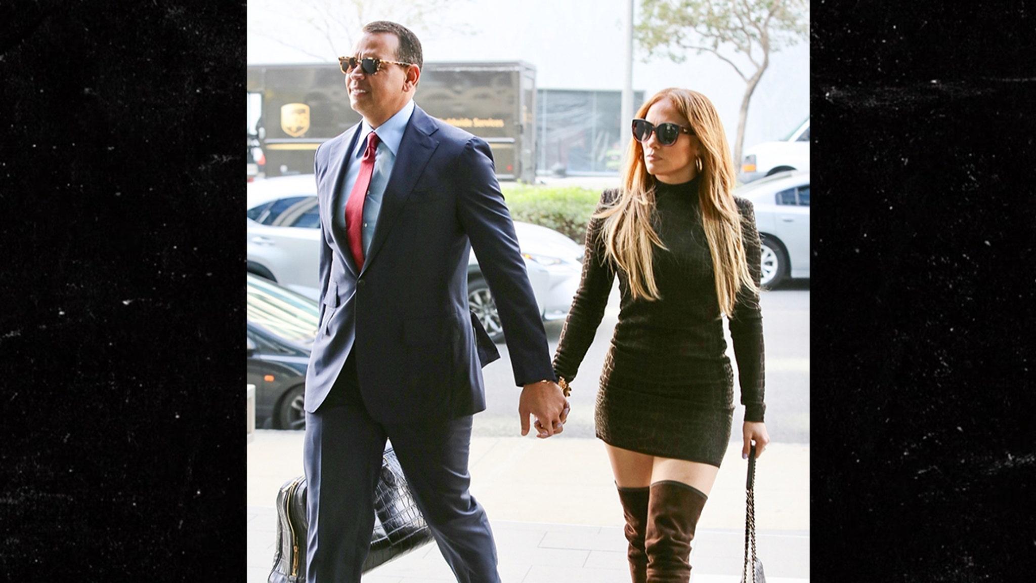 Jennifer Lopez And Alex Rodriguez Make Business Really Sexy-2845