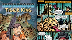 'Tiger King' Comic Book, First Pages of Joe Exotic Origin Story