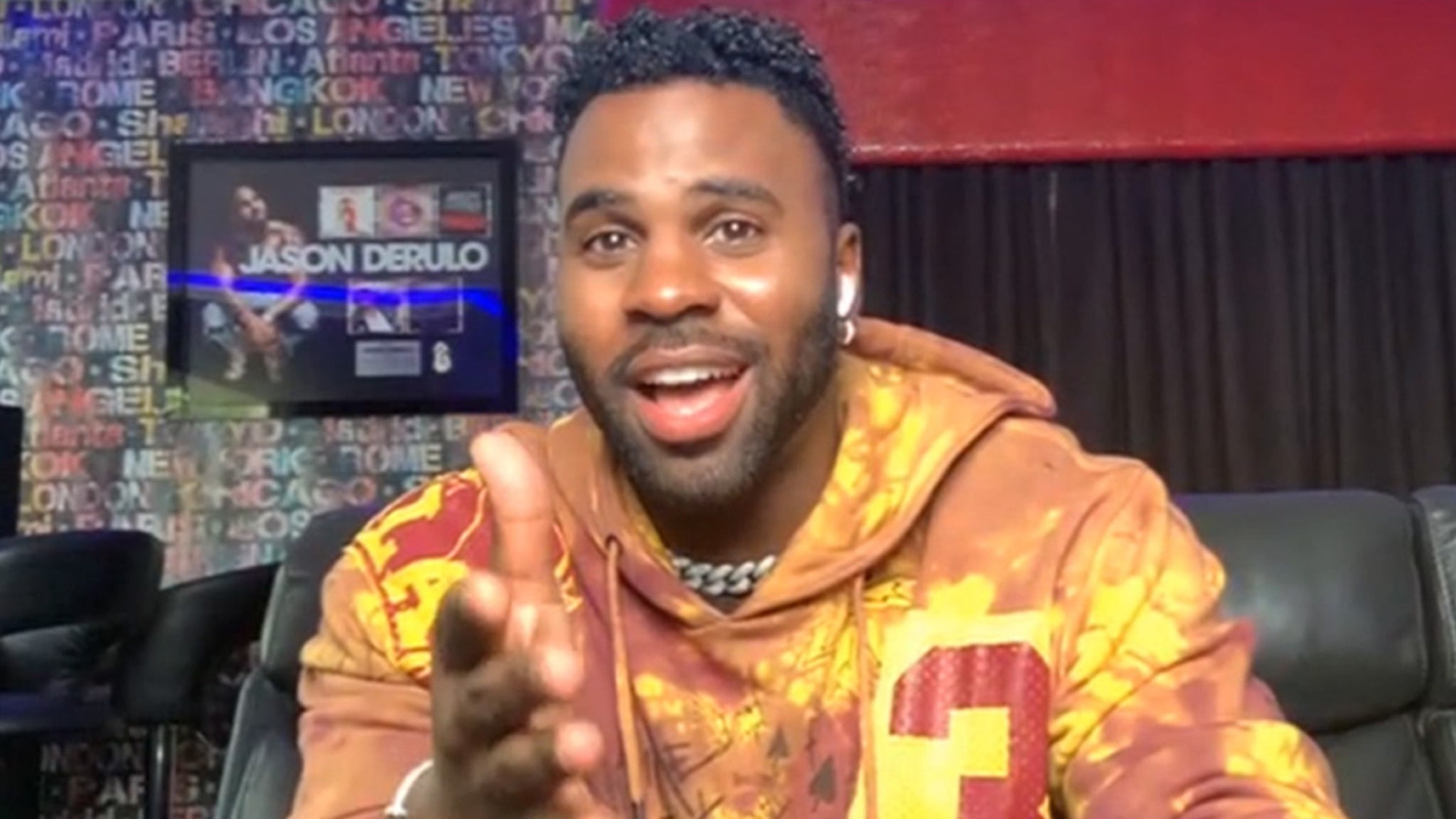 Jason Derulo Challenges The Rock To July 4 Hot Dog Eating Contest