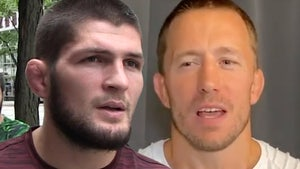 Khabib Wants to Fight Georges St-Pierre, 'It Was My Father's Dream Fight'