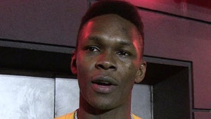 Israel Adesanya Apologizes For Threatening To 'Rape' Another UFC Fighter