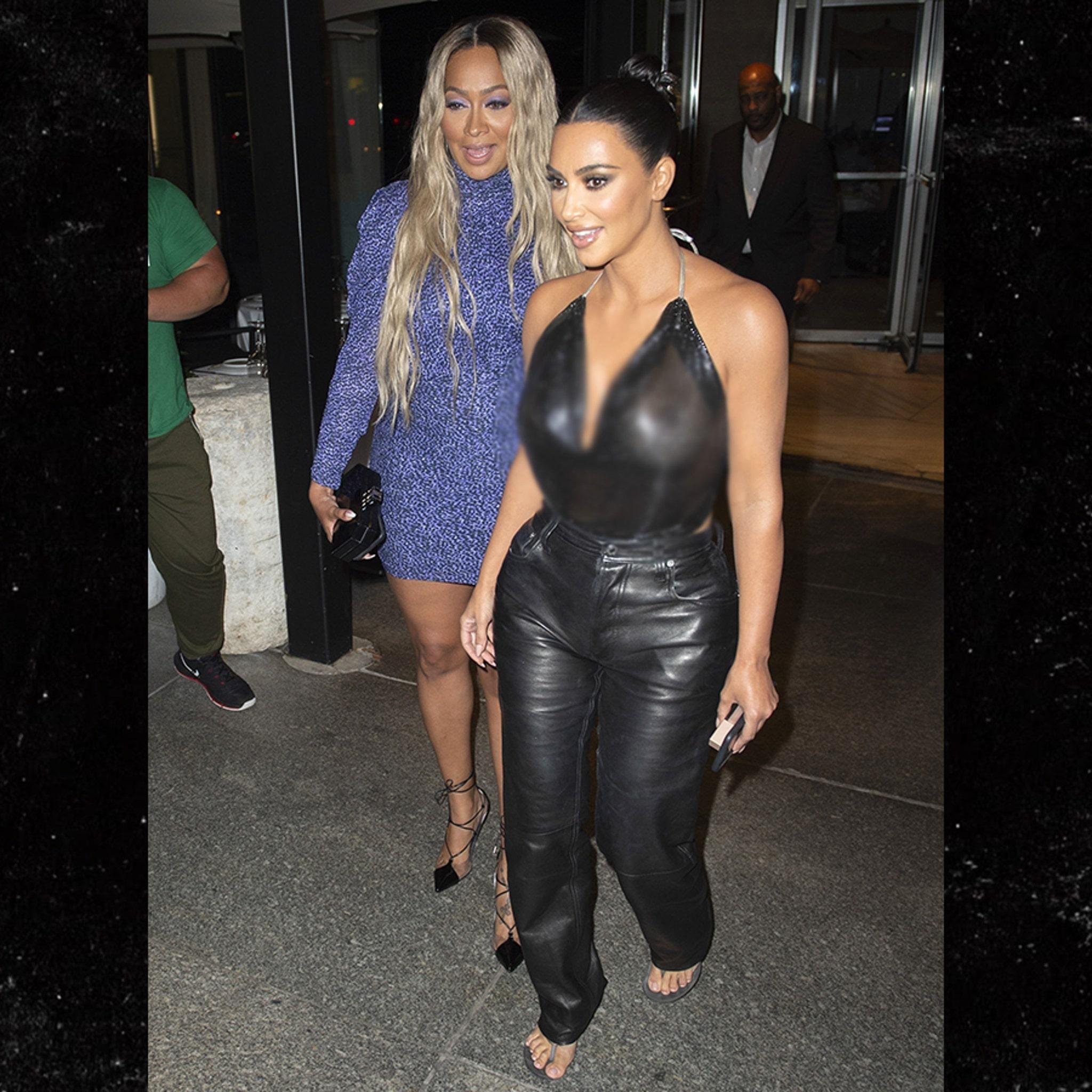 Kim Kardashian and Tristan Thompson Hit Up Same NYC Restaurant