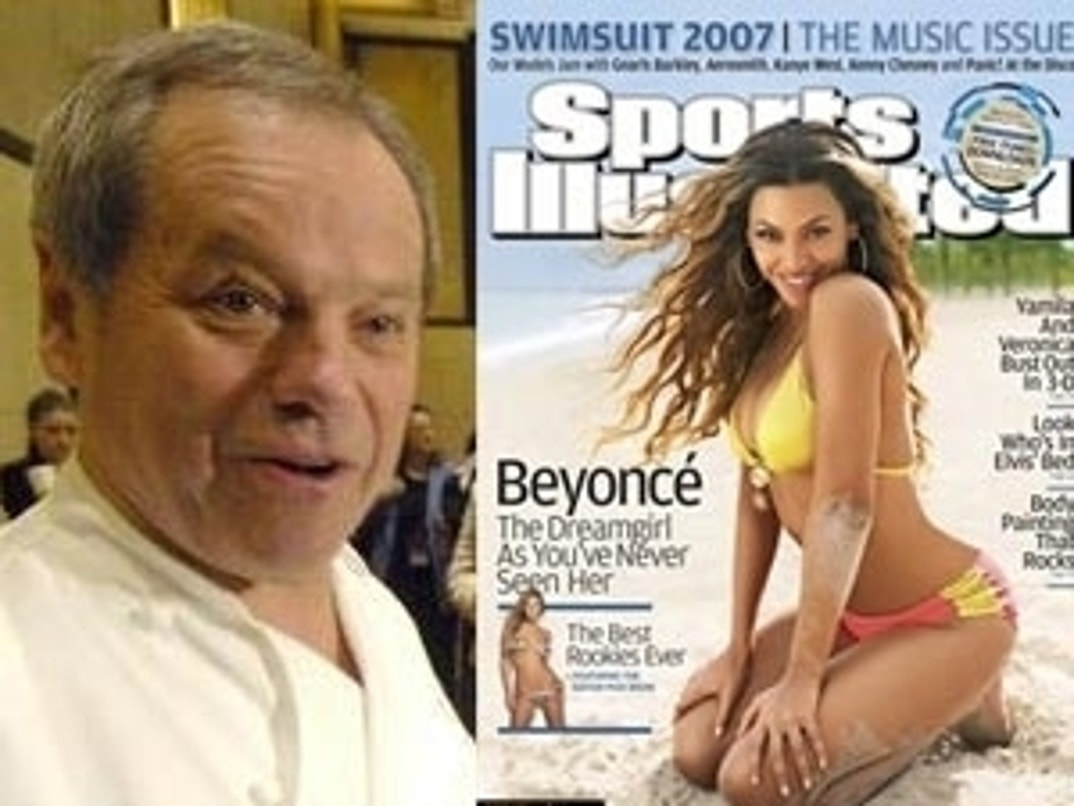 Winter 2007 Beyonce Knowles Sports Illustrated Swimsuit Issue