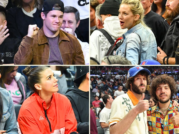Celebrity Lakers Fans Opening Night Photos