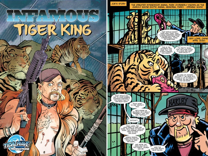 Tiger King Comic Book
