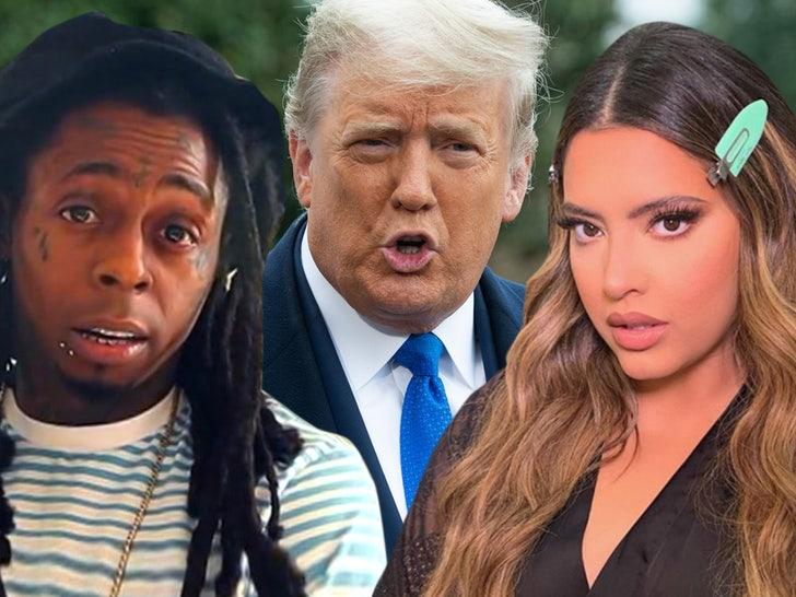 Lil Wayne S Girlfriend Dumps Him Reportedly Over Trump Endorsement
