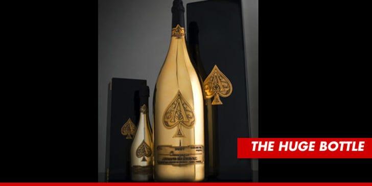 David Ortiz -- Slammed $100,000 Bottle of Champagne in World Series