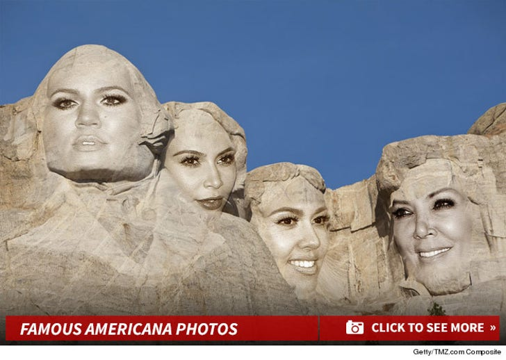 Famous Faces Taking Over Our National Treasures