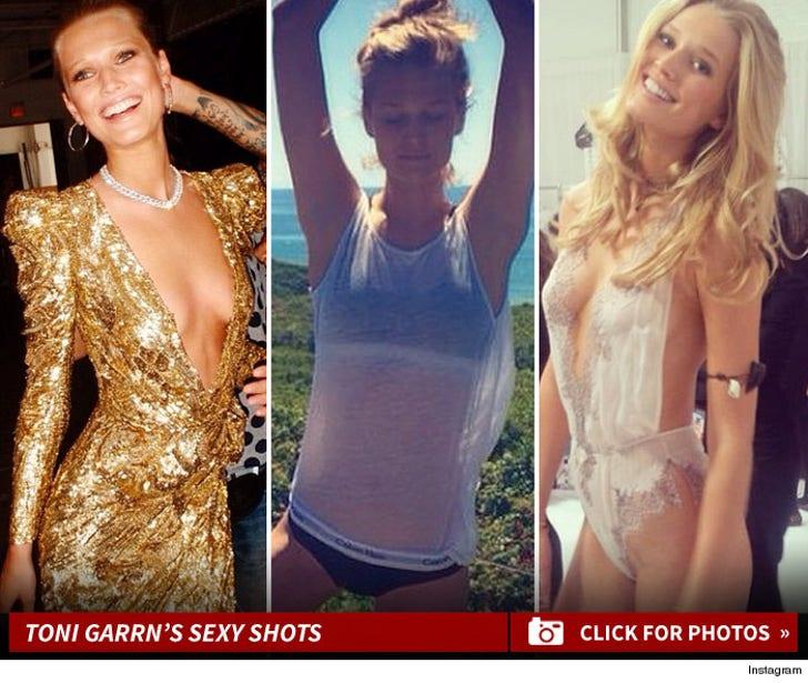 Toni Garrn's Sexy Instagram Photos