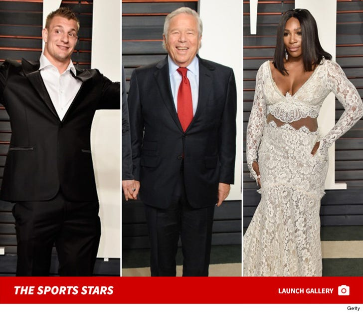 Sports Stars Attend the 88th Academy Awards