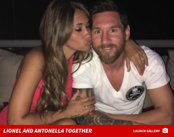 Lionel and Antonella Together
