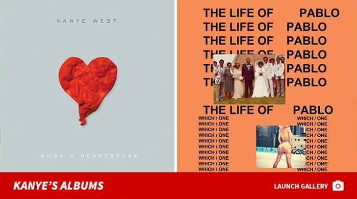Kanye West's Albums