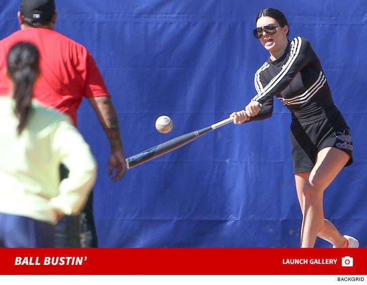 Kardashian Softball Game