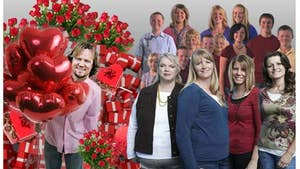 'Sister Wives' Valentine's Day -- Table for Five