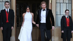 Prince Harry and Meghan Markle Change Outfits for Evening Reception