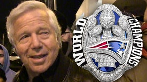 Robert Kraft's Super Bowl Ring Sells for More Than $1 Mil for Charity!