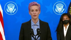 Megan Rapinoe Calls For Equal Pay During W.H. Speech, 'So Much Real Work To Be Done'