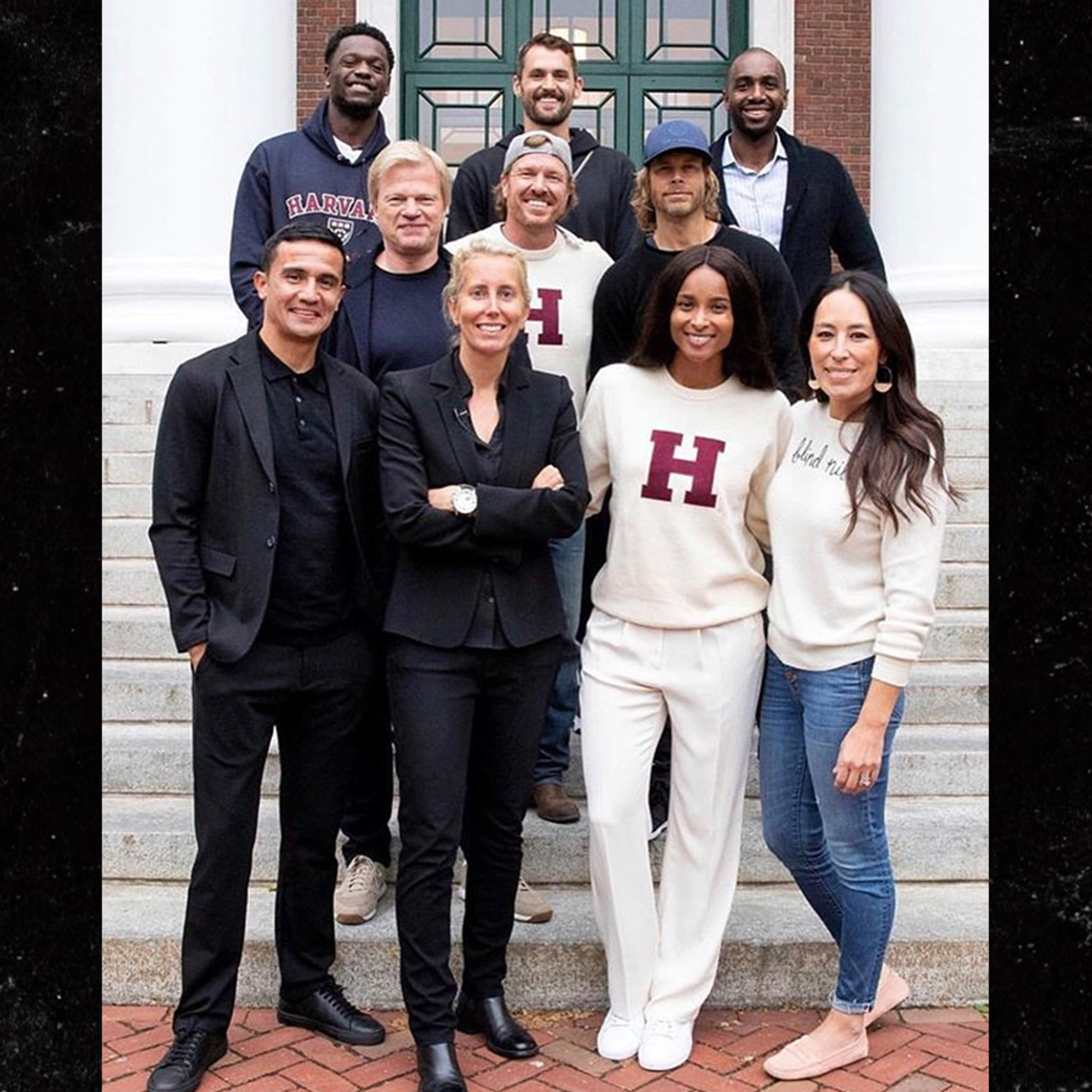 Chip and Joanna Gaines, Ciara & Other Stars Complete Harvard