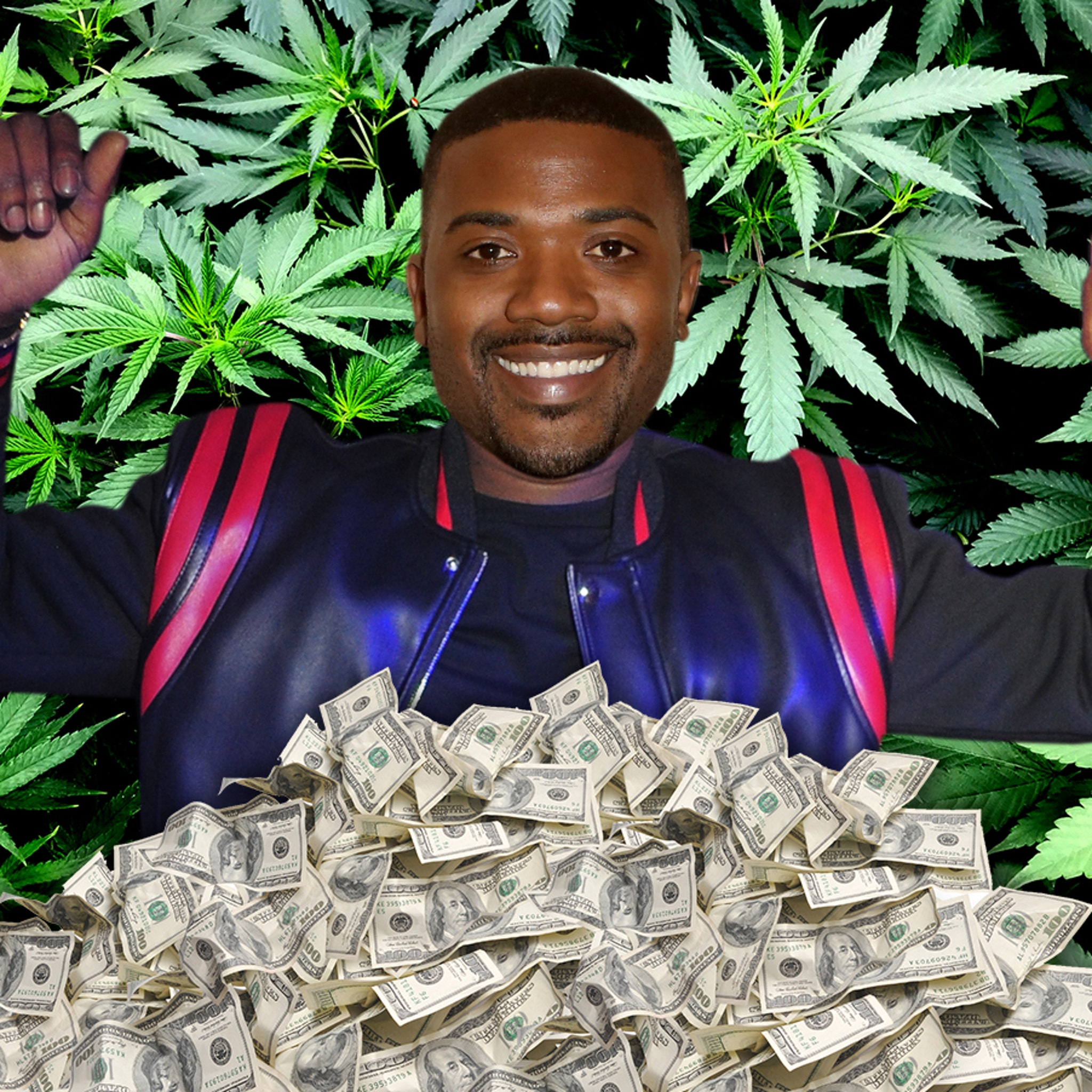 Image result for ray j weed