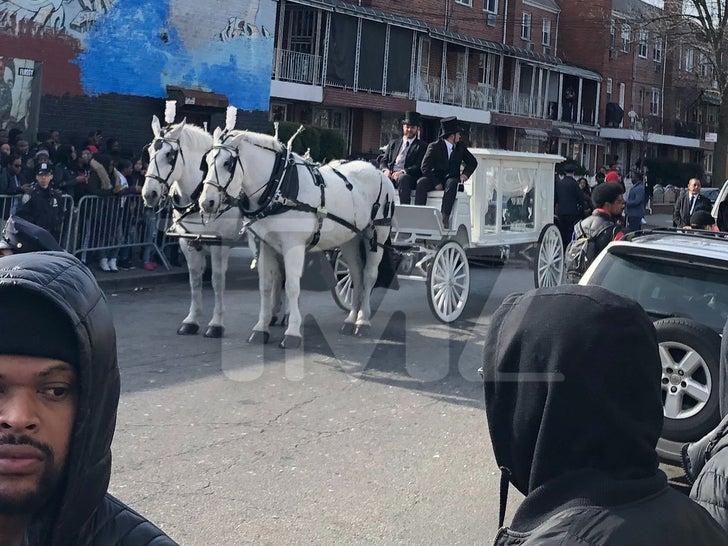Pop Smoke Funeral Procession