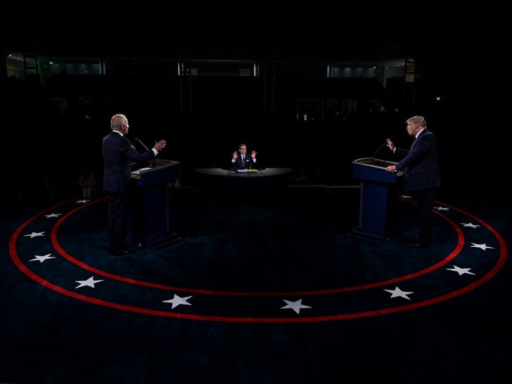Trump And Biden Face Off At First Debate