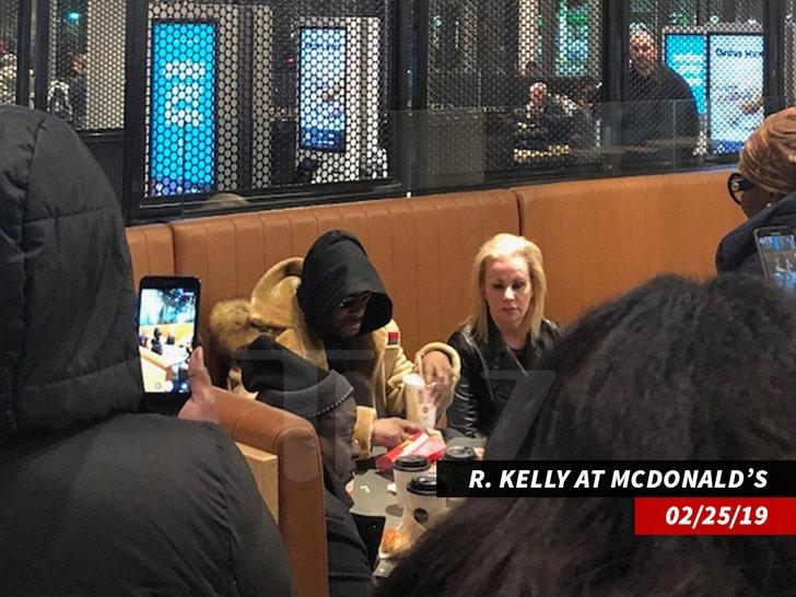 r Kelly en mcdonadls