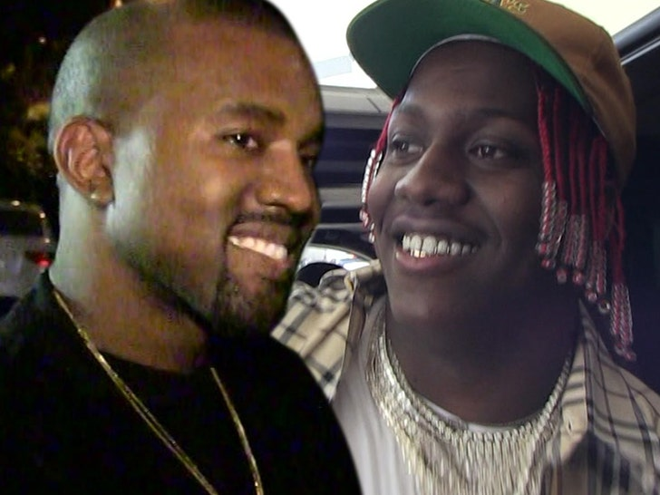 Kanye West Debuts Supervillain Look, Hangs with Lil Yachty in ATL.jpg