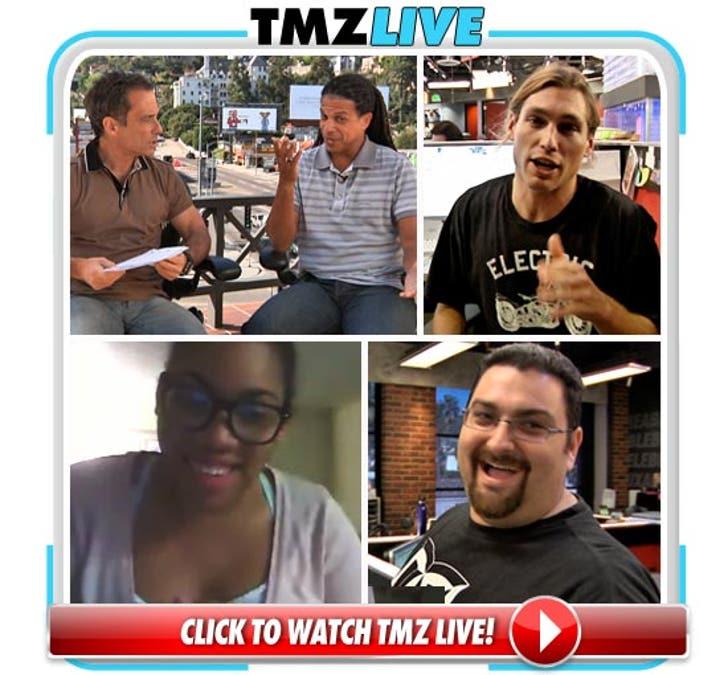 TMZ Live: Viewer Visit via Skype, Octo vs  Duggar
