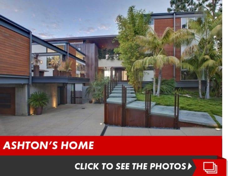 Ashton Kutcher's Hollywood Lake House