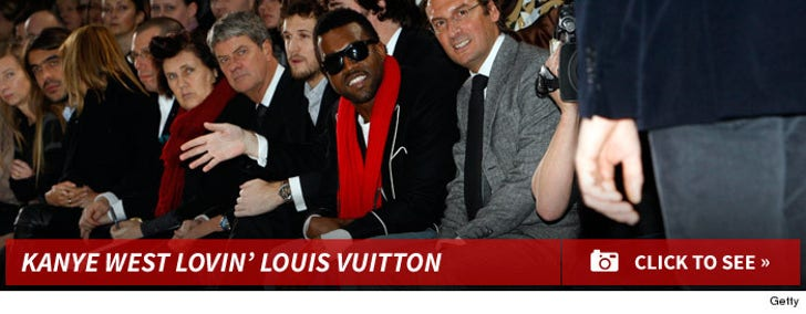 Kanye West -- Louis Vuitton