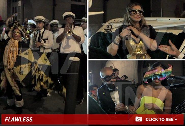 Tina Knowles' Masquerade Party