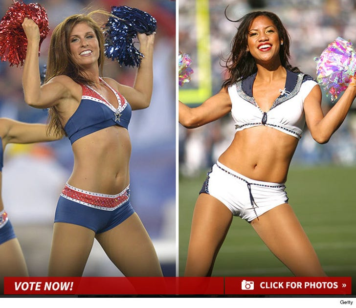 Patriots Cheerleaders vs. Seahawks Cheerleaders -- Who'd You Rather?