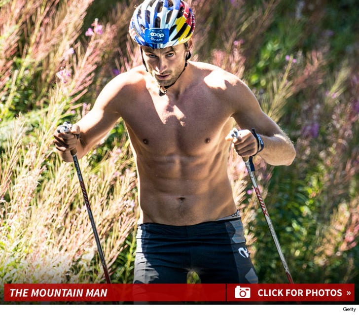 Olympian Petter Northug's Shirtless Altitude Training