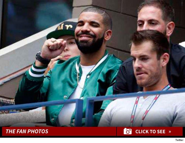 Drake -- Serena Williams' Bad Luck Charm!