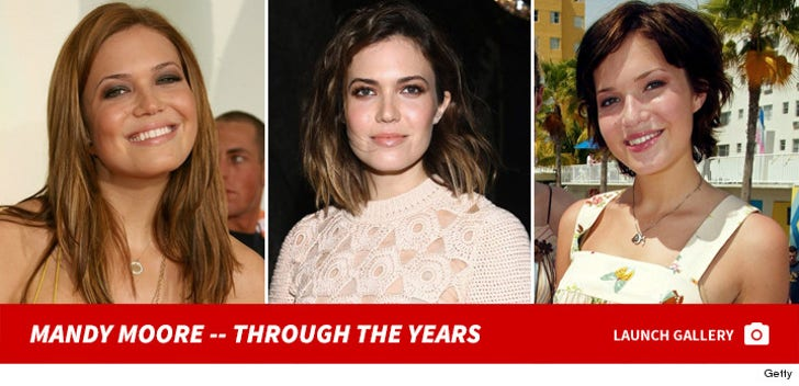 Mandy Moore -- Through the Years