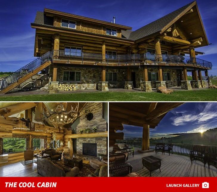 Dan Bilzerian's Cool Cabin for Wishes for Warriors