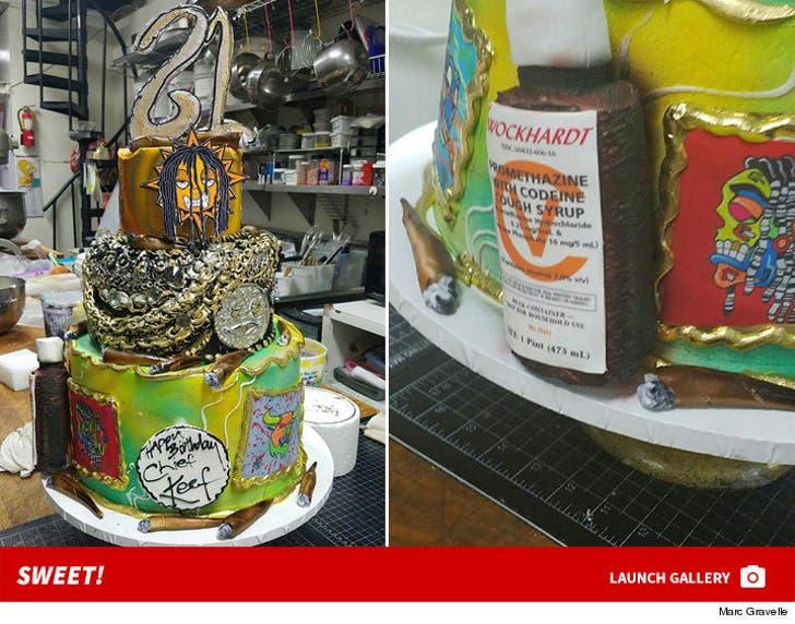 Chief Keef's Birthday Cake