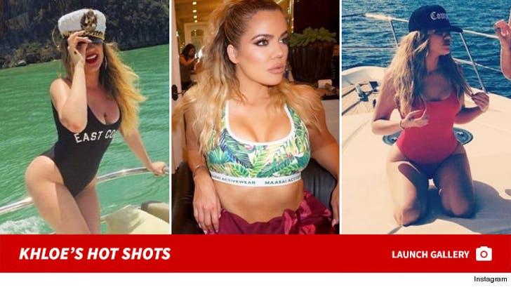 Khloe Kardashian's Hot Shots